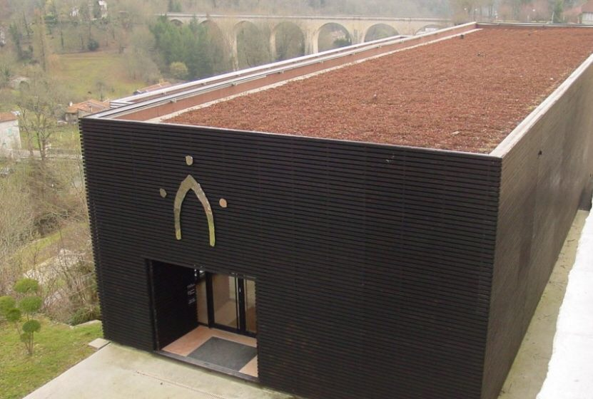 Coutellerie Nontronnaise building, symbol of Nontron village