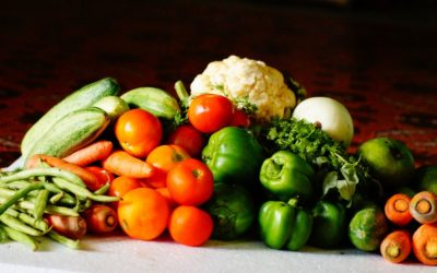 3 seasonal recipes with veggies picked from the garden